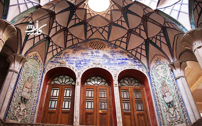 عکس خانه بروجردی ها کاشان | خانه بروجردی ها عکس