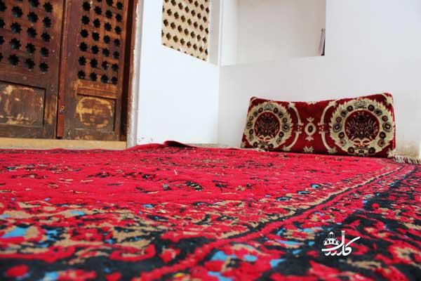 طراح معروف فرش کاشان