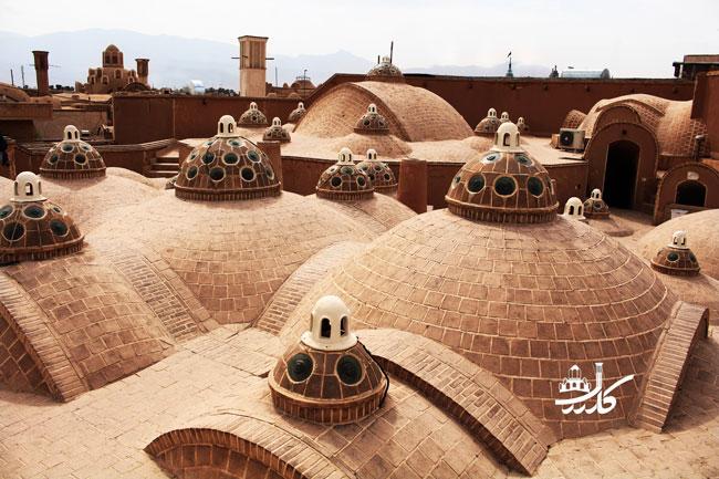 حمام سلطان میر احمد کاشان | حمامی در کاشان | خانه بروجردی | خانه طباطبایی ها | زیارت حضرت سلطان امیر احمد | جاذبه های گردشگری کاشان