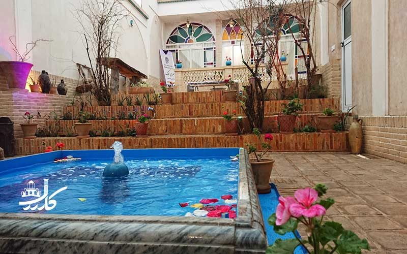 عکس اقامتگاه سرای ملک کاشان 2
