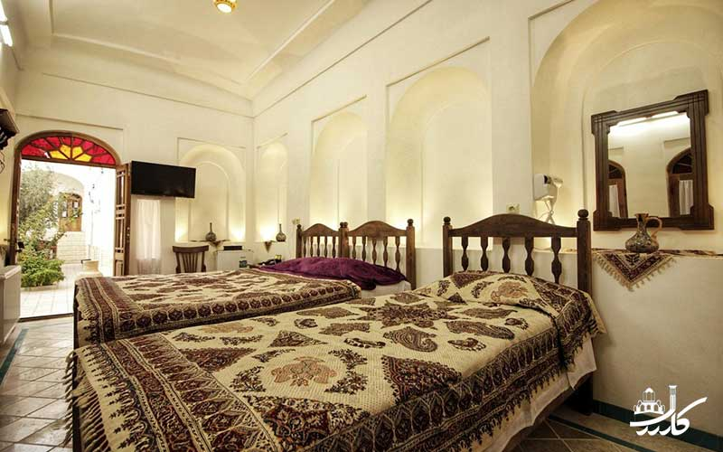 عکس هتل سنتی خانه اطلسی کاشان 4