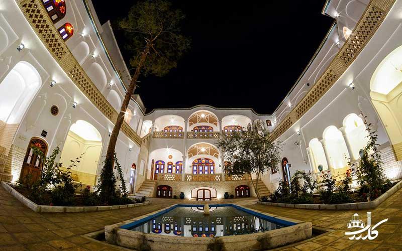 عکس هتل اطلسی کاشان