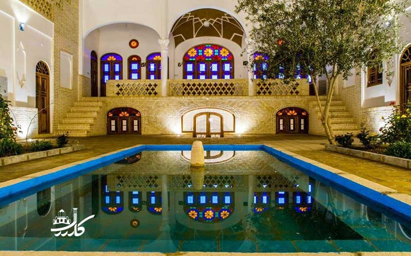 عکس هتل سنتی خانه اطلسی کاشان | عکس هتل اطلسی کاشان