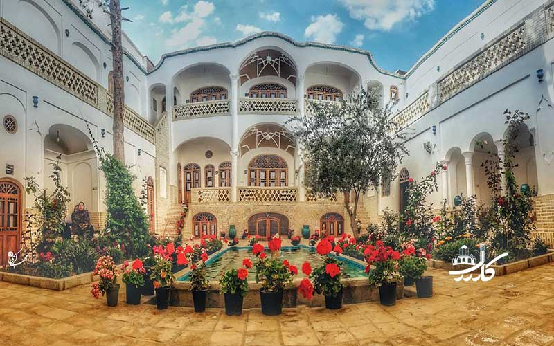 عکس هتل سنتی خانه اطلسی کاشان 3