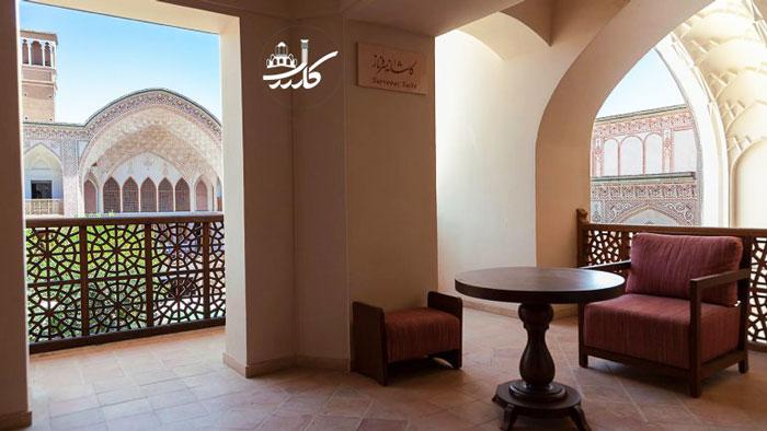 عکس هتل سرای خانه عامری ها در کاشان