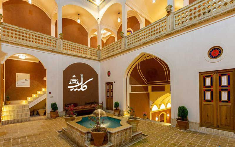 عکس هتل بابا افضل کاشان | اقامتگاه سنتی بابا افضل کاشان