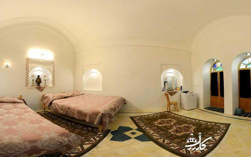 اقامتگاه سنتی خادمی کاشان | عکس هتل خادمی کاشان