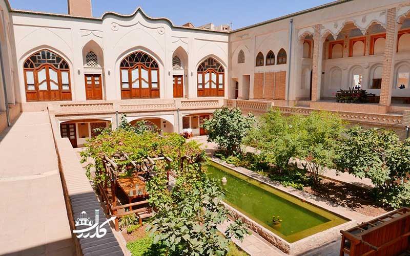 عکس هتل خانه ایرانی کاشان ش 1