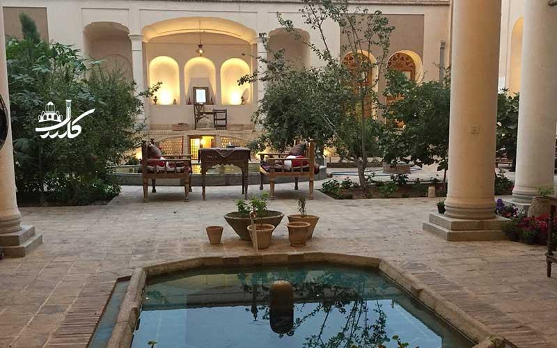 خانه مرشدی کاشان | عکس هتل مرشدی کاشان