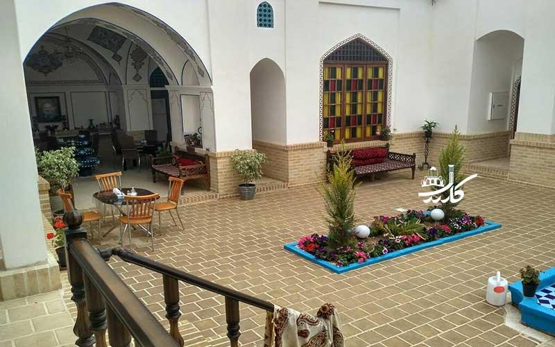 عکس اقامتگاه سنتی آمیرزا کاشان