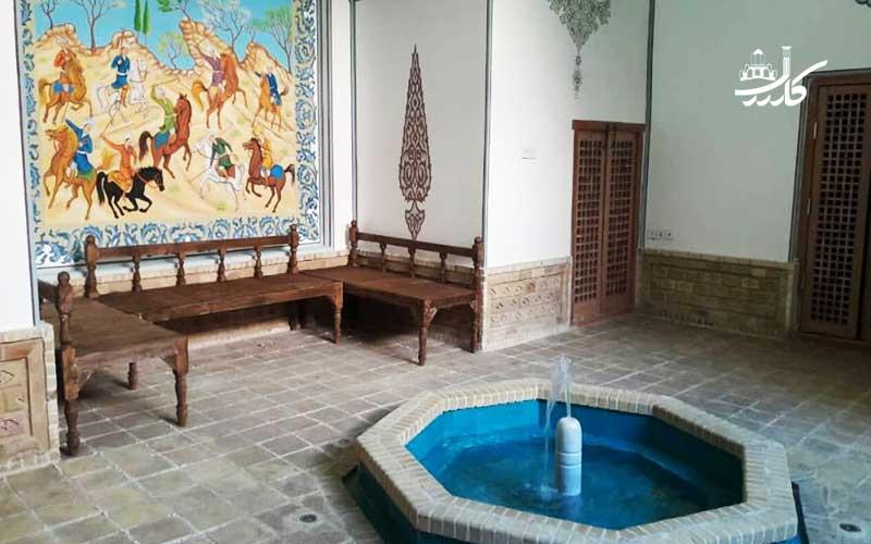 عکس اقامتگاه سنتی امیر السلطنه کاشان
