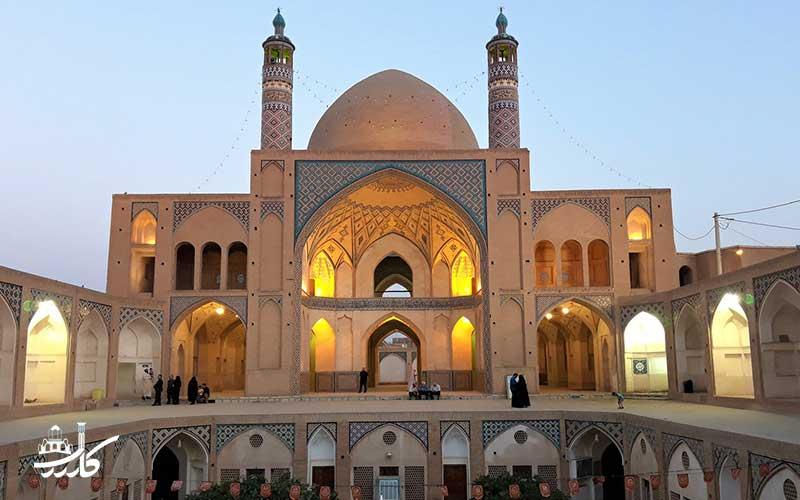مسجد آقابزرگ کاشان   علی مریم کاشانی