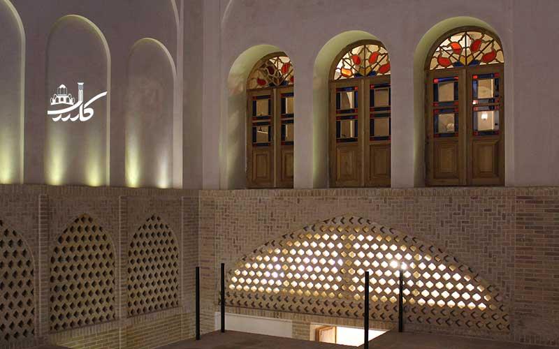 عکس اقامتگاه سنتی زاویه کاشان | هتل زاویه کاشان