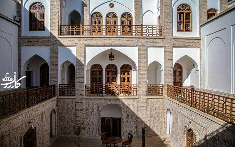 سنگ پلوی کاشان   عکس هتل سنتی سنگ پلوی کاشان