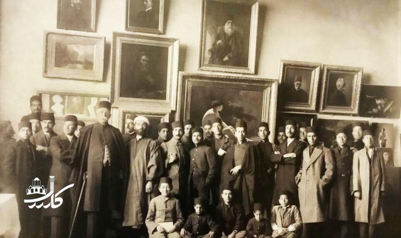 اولین مدرسه هنر ایران توسط کمال الملک