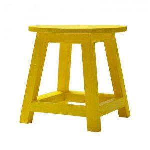 چهارپایه گلدان چوبی