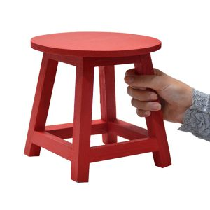 چهارپایه رنگی برای گلدان