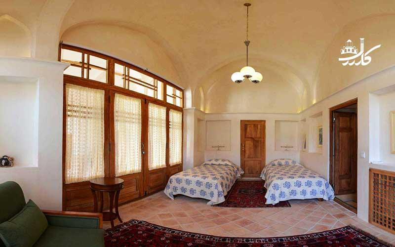 عکس هتل سرای درب باغ کاشان