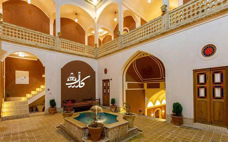 عکس اقامتگاه سنتی بابا افضل کاشان