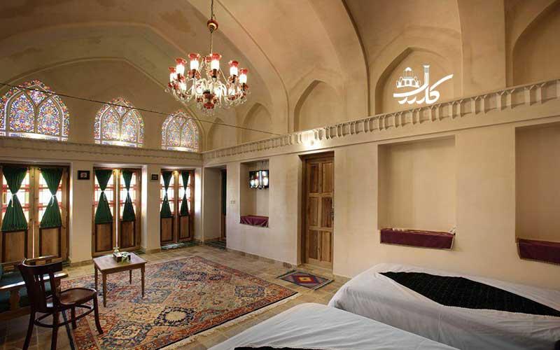 عکس هتل ادیب کاشان