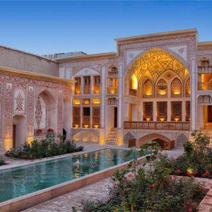عکس هتل مهینستان راهب کاشان